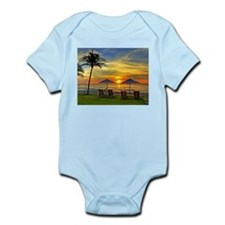 Sunset & Palm Trees Infant Bodysuit