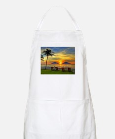 Sunset & Palm Trees Apron