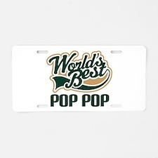 Pop Pop (Worlds Best) Aluminum License Plate
