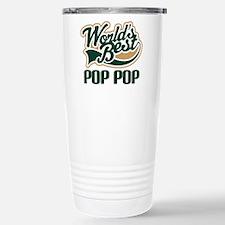 Pop Pop (Worlds Best) Stainless Steel Travel Mug