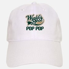 Pop Pop (Worlds Best) Baseball Baseball Cap