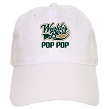 Pop Pop (Worlds Best) Baseball Cap