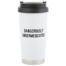 Danger Undermed Ceramic Travel Mug