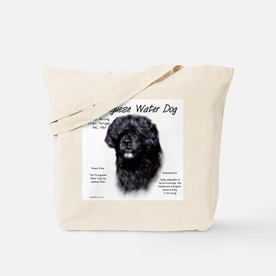 Portuguese Water Dog Tote Bag