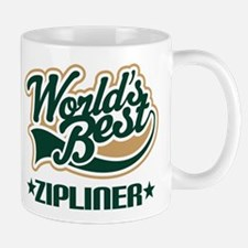 Zipliner (Worlds Best) Gift Small Small Mug