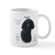 Black Poodle Mug