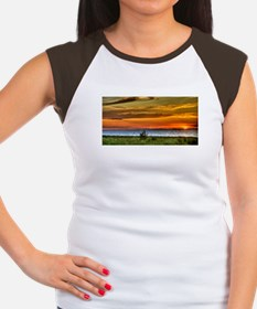 Chicago on the Horizon Women's Cap Sleeve T-Shirt