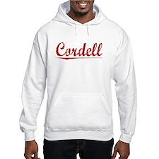 Cordell, Vintage Red Hoodie