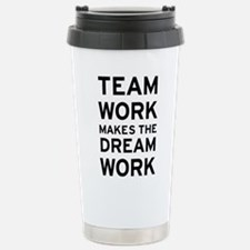 Team Dream Stainless Steel Travel Mug