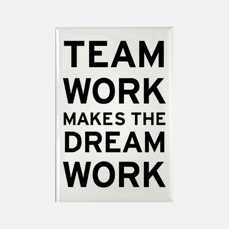 Team Dream Rectangle Magnet