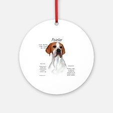 Pointer Ornament (Round)