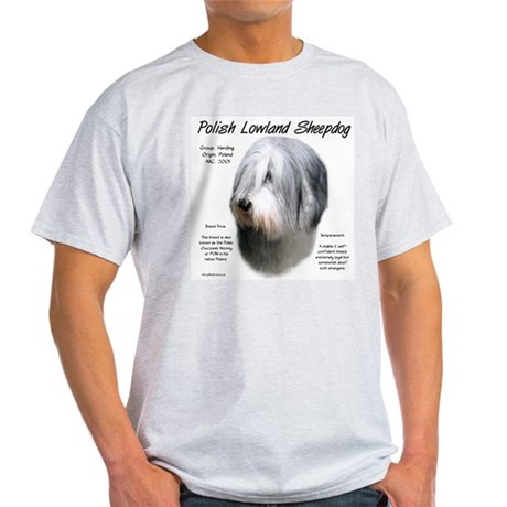 Polish Lowland Sheepdog Light T-Shirt