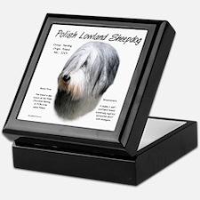 Polish Lowland Sheepdog Keepsake Box