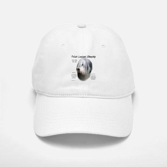 Polish Lowland Sheepdog Baseball Baseball Cap
