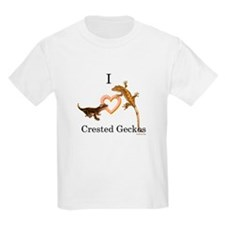 I Love Crested Geckos T-Shirt