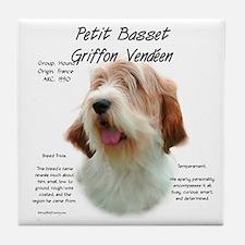 PBGV Tile Coaster
