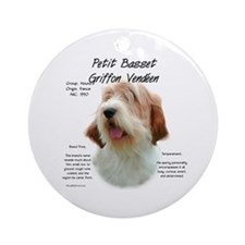PBGV Ornament (Round)
