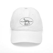 Italian Greyhound DAD Baseball Cap