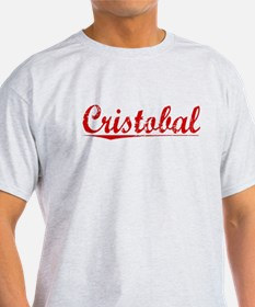 Cristobal, Vintage Red T-Shirt