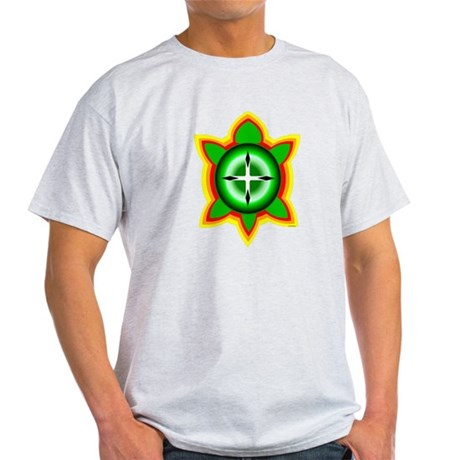 SOUTHEASTERN TRIBAL TURTLE Light T-Shirt