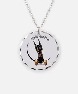 Doberman IAAM Necklace