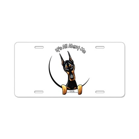 Doberman IAAM Aluminum License Plate