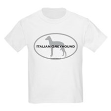 Italian Greyhound Kids T-Shirt