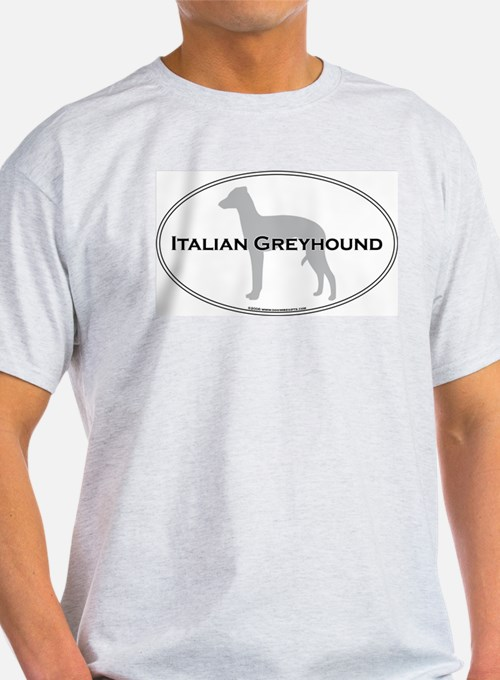 Italian Greyhound Ash Grey T-Shirt