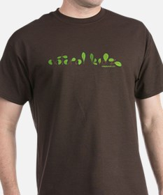 Natural Kidz with green leaves T-Shirt