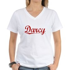 Darcy, Vintage Red Shirt