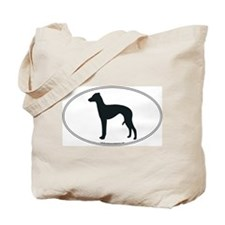 Italian Greyhound Silhouette Tote Bag