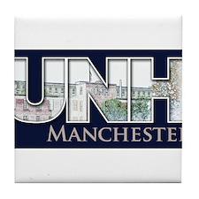 UNH Manchester Graphic Tile Coaster