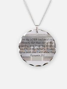Genesis 12:1 Necklace