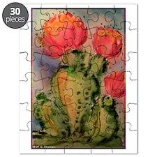 Cactus! Bright southwest art! Puzzle