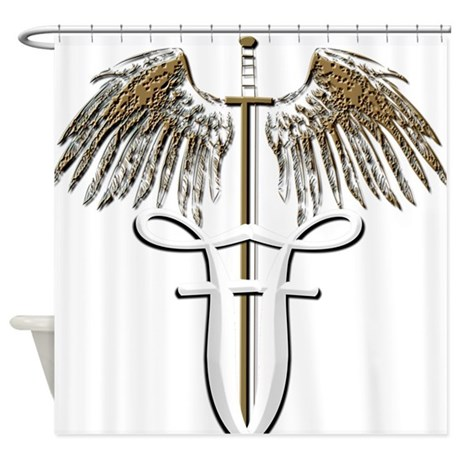Ff sword.png Shower Curtain