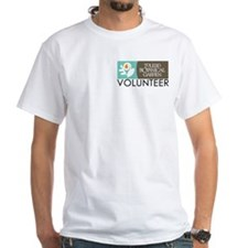 "Men's White ""Volunteer"" T-Shirt"