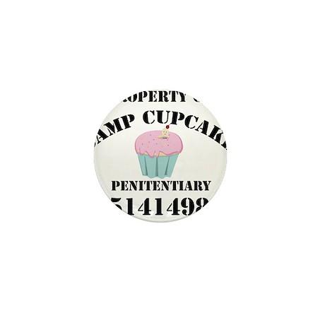 Property of Camp Cupcake Mini Button