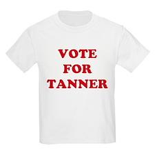 VOTE FOR TANNER  Kids T-Shirt
