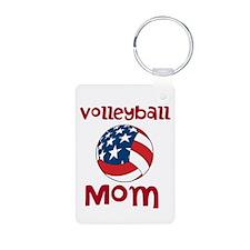 Volleyball Mom Keychains