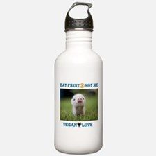 Vegan Love Water Bottle