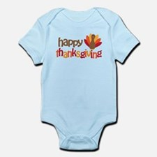 Happy Thanksgiving Infant Bodysuit