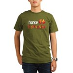 Happy Thanksgiving Organic Men's T-Shirt (dark)