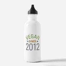Vegan Since 2012 Water Bottle