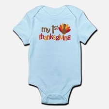 My 1st Thanksgiving Infant Bodysuit