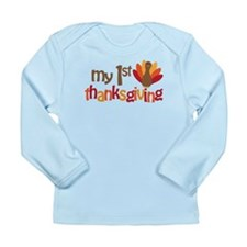 My 1st Thanksgiving Long Sleeve Infant T-Shirt
