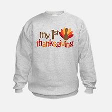 My 1st Thanksgiving Sweatshirt