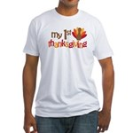 My 1st Thanksgiving Fitted T-Shirt
