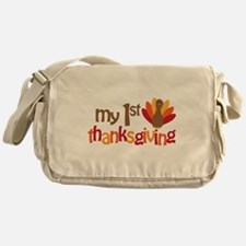 My 1st Thanksgiving Messenger Bag