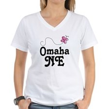Omaha Nebraska Butterfly Shirt