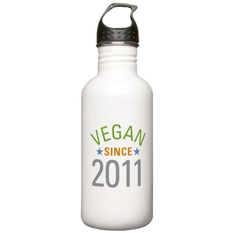 Vegan Since 2011 Stainless Water Bottle 1.0L